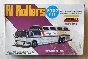 LINDBERG  1029 HI ROLLERS GREYHOUND BUS