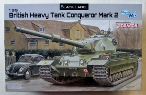 DRAGON 1/35 3555 BRITISH HEAVY TANK CONQUEROR MARK 2
