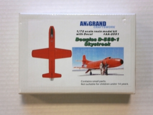 ANIGRAND 1/72 2051 DOUGLAS D-558-1 SKYSTREAK