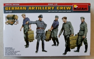 MINIART 1/35 35192 GERMAN ARTILLERY CREW SPECIAL EDITION