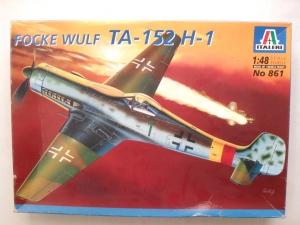 ITALERI 1/48 861 FOCKE WULF Ta-152 H-1