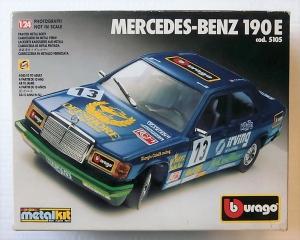 BURAGO 1/24 5105 MERCEDES-BENZ 190E