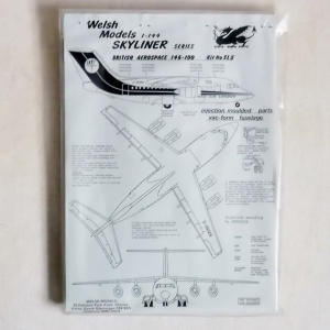 WELSH MODELS 1/144 SL5 BRITISH AEROSPACE 146-100 DAN AIR