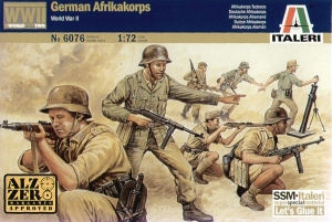 ITALERI 1/72 6076 WWII GERMAN AFRIKAKORPS