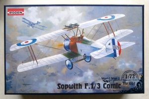 RODEN 1/72 051 SOPWITH F.1/3 COMIC