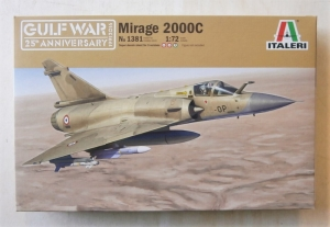 ITALERI 1/72 1381 MIRAGE 2000C GULF WAR