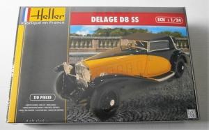 HELLER 1/24 80720 DELAGE D8 SS
