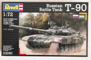 REVELL 1/72 03190 T-90 RUSSIAN BATTLE TANK
