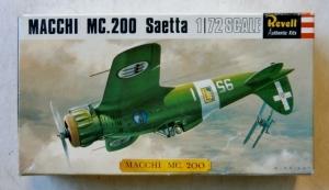 REVELL 1/72 H657SFB MACCHI MC.200 SAETTA