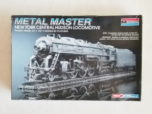 MONOGRAM  1133 METAL MASTER NEW YORK CENTRAL HUDSON LOCOMOTIVE 1/87