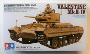 TAMIYA 1/35 35352 VALENTINE Mk.II/IV