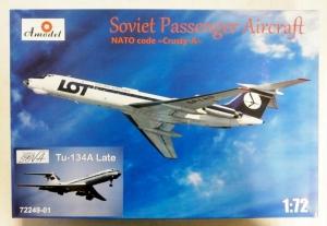 A MODEL 1/72 72249 Tu-134A LATE