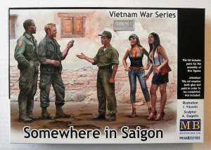 MASTERBOX 1/35 35185 SOMEWHERE IN SAIGON VIETNAM WAR SERIES