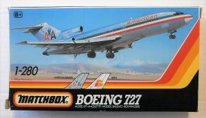 MATCHBOX  PK-802 BOEING 727 AA IBERIA 1/280