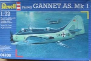 REVELL 1/72 04106 FAIREY GANNET AS Mk.1