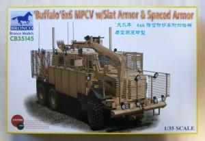 BRONCO 1/35 35145 BUFFALO 6 x 6 MPCV WITH SLAT ARMOUR   SPACED ARMOUR