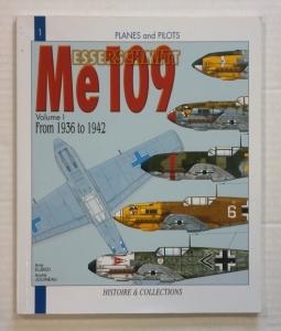CHEAP BOOKS  ZB790 PLANES AND PILOTS No 1 MESSERSCHMITT Me 109 VOL 1