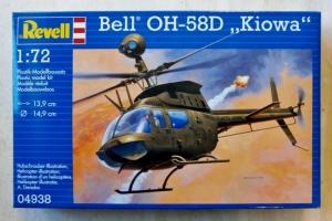REVELL 1/72 04938 BELL OH-58D KIOWA