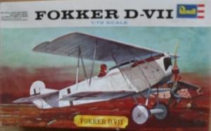REVELL 1/72 H632 FOKKER D.VII