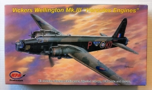 MPM 1/72 72542 VICKERS WELLINGTON Mk.III HERCULES ENGINE