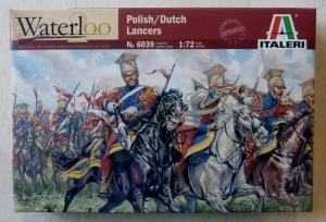 ITALERI 1/72 6039 NAPOLEONIC POLISH-DUTCH LANCERS