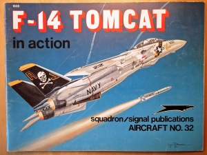 SQUADRON/SIGNAL AIRCRAFT IN ACTION  1032. F-14 TOMCAT