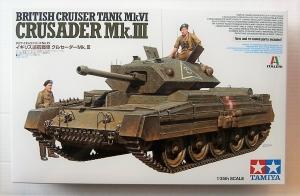 TAMIYA 1/35 37025 CRUSADER MK.III