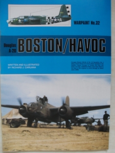 WARPAINT  032. DOUGLAS A-20 BOSTON/HAVOC