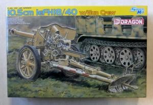 DRAGON 1/35 6795 10.5cm LeFH18/40 with GUN CREW
