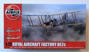 AIRFIX 1/72 02104 ROYAL AIRCRAFT FACTORY BE2c