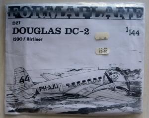 FORMAPLANE 1/144 D27 DOUGLAS DC-2