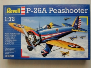 REVELL 1/72 03990 P-26A PEASHOOTER