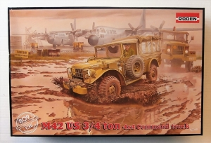 RODEN 1/35 809 M42 US 3/4 TON 4x4 COMMAND TRUCK