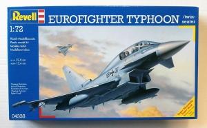REVELL 1/72 04338 EUROFIGHTER TYPHOON TWIN SEAT