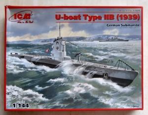 ICM 1/144 S009 U-BOAT TYPE IIB 1939