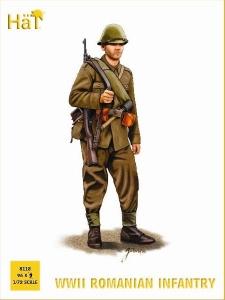 HAT INDUSTRIES 1/72 8118 WWII ROMANIAN INFANTRY