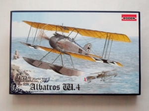RODEN 1/72 034 ALBATROS W.4 LATE