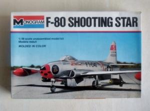 MONOGRAM 1/48 5404 F-80 SHOOTING STAR