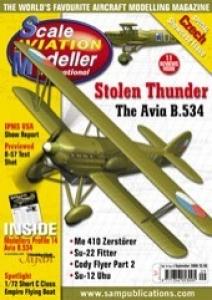 SCALE AVIATION MODELLER  SCALE AVIATION MODELLER VOLUME 14 ISSUE 09