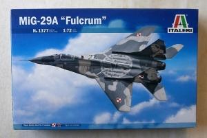 ITALERI 1/72 1377 MiG-29A FULCRUM