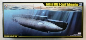 MERIT 1/35 63504 BRITISH HMS X-CRAFT SUBMARINE