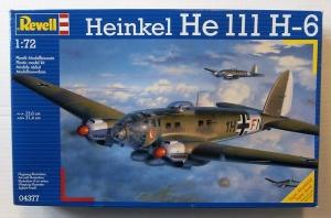 REVELL 1/72 04377 HEINKEL He 111H-6