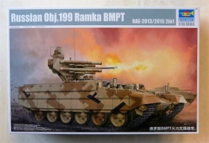 TRUMPETER 1/35 05548 RUSSIAN OBJ.199 RAMKA BMPT RAE-2013/2015 2 in 1