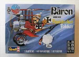REVELL  1735 THE RED BARON AND HIS FUNFDECKER FOKKER
