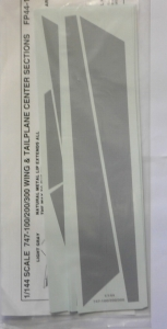 0 1/144 1004. 44146 747-100/200/300 WING   TAILPLANE CENTRE SECTIONS