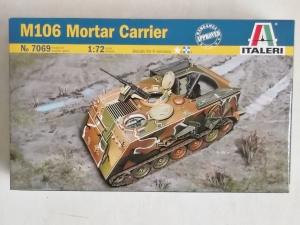 ITALERI 1/72 7069 M106 MORTAR CARRIER