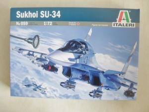 ITALERI 1/72 059 SUKHOI Su-34/32 STRIKE FLANKER