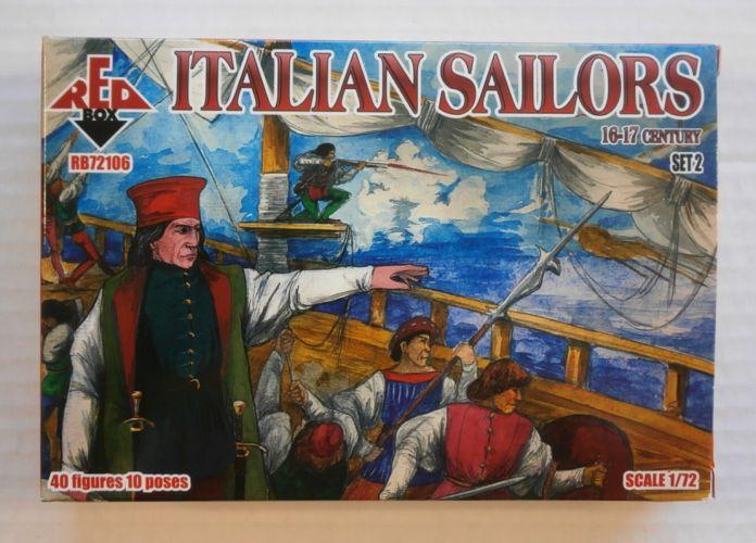 RED BOX 1/72 72106 ITALIAN SAILORS 16-17 CENTURY SET 2