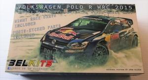 BELKITS 1/24 010 VW POLO R WRC 2015