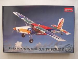 RODEN 1/48 444 PILATUS PC-6/B2-H2 TURBO PORTER DER BUNTE FREDI